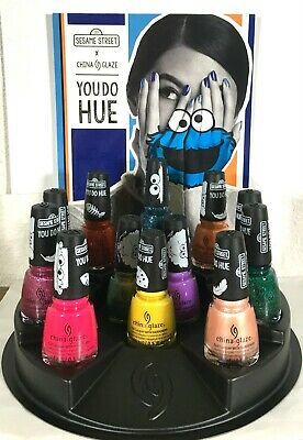 China Glaze Nail Lacquer -YOU DO HUE x SESAME STREET Collection- Pick Color .5oz