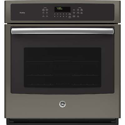 GE Profile Series 27-inch Built-in Single Convection Wall Silver