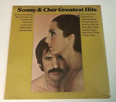 Sonny & Cher LP Greatest Hits SEALED