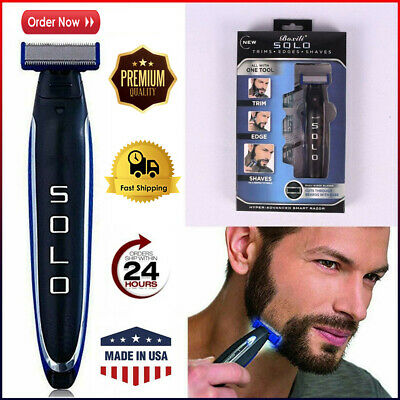 MicroTouch Micro-Touch-SOLO Rechargeable Trims Edges Razor Shaver As Seen On TV