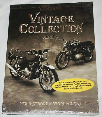 Clymer  Vintage Motorcycles Collection Series Four-Stroke Service  VCS-4  Sealed