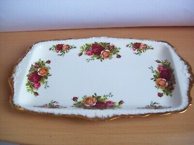Royal Albert Old Country Roses Large Sandwich Tray/Plate First quality unused,