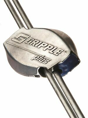 Gripple Plus Medium 20 Pack | Wire Joiner | Wire Tensioner | Works with 10-14...
