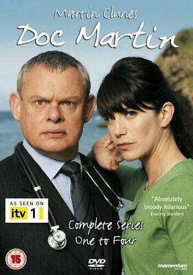 Doc Martin Box Set DVD - The Complete Collection Series 1 2 3 4 Set - Comedy TV