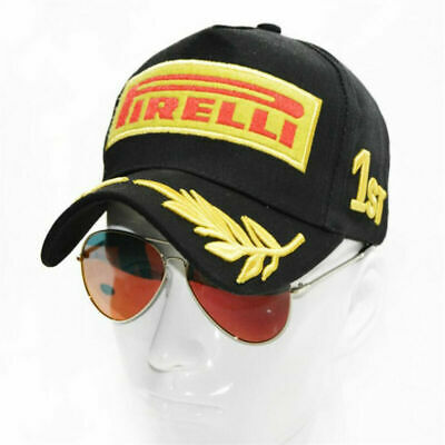 68c33bb9eebca0 Men Embroidery Cotton Racing Hat F1 Sports Moto GP Peaked Baseball Cap  Trucker