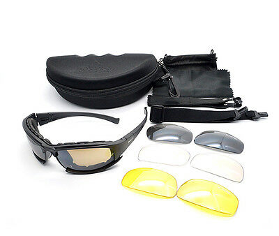Daisy X7 UVA//UVB Tactical Military Style Brille Motorrad Sonnenbrille