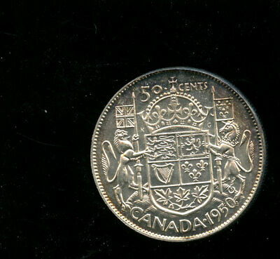 1950 Canada Silver 50 Cents MS64 or better GEM  A709