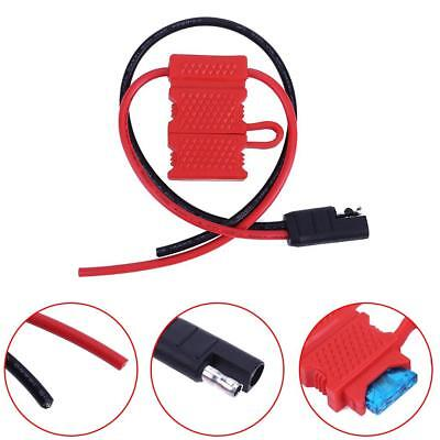 Power Cable For Motorola Mobile Radio CDM1250 GM360 CM140 w/ Fuse for GM140