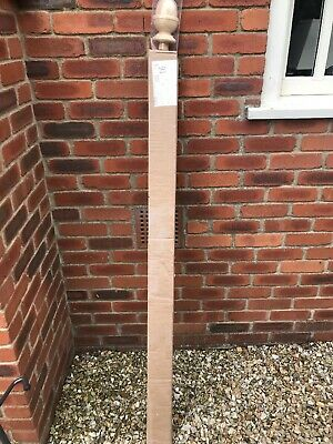 Plain Square Stair Newel Post 1500 90mm - Still In Box - Very Good Condition