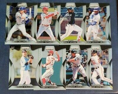 2019 Prizm Baseball Veteran Base Tier 1 Tier 2 Tier 3 You Pick From List