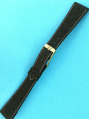 Old Omega Vintage Lock Gold Plated with Watch Band 20 mm, for Fixed Lugs Clip
