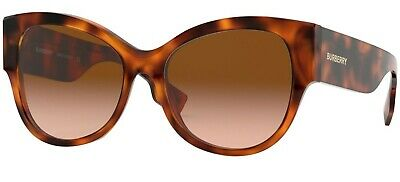 Burberry 4294 54 33163B Light Havana Brown Gradient Lenses Sole Sunglasses