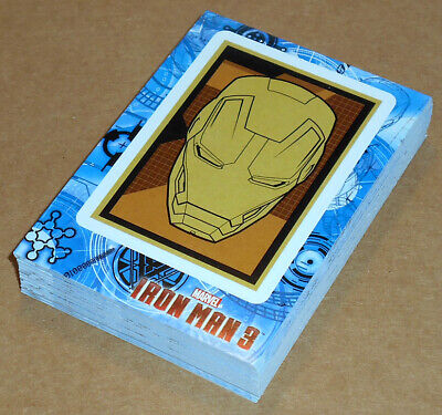 Iron Man 3 (Upper Deck, 2013)~ STICKER INSERT CARD LOT (38 cards total,no dupes)