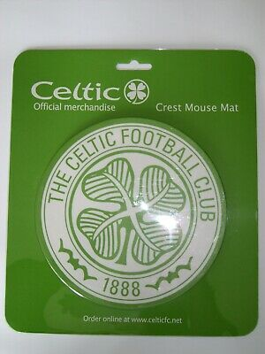 CELTIC F.C. CREST MOUSEMAT Football Club Official Team CFC Hoops New