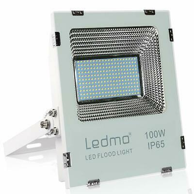 LEDMO Projecteur LED 100W Blanc Chaud 2700K  (Projecteur Led 100w Blanc Chaud)
