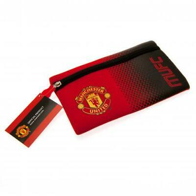 Manchester United Flat Pencil Case Official Football Man Utd MUFC FC School New