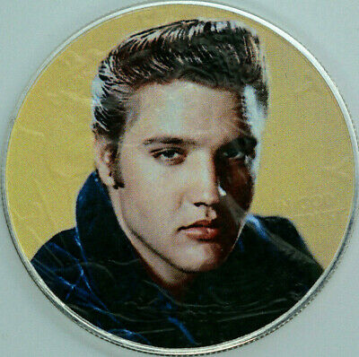 Elvis Presley Limited Editition American Silver Eagle 1oz. .999 Silver Coin