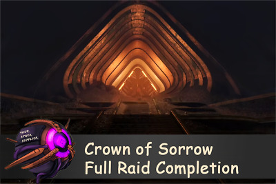 Destiny 2: Crown of Sorrow Full Raid Completion Within 24h (PC)