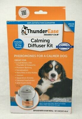 ThunderEase Calming Diffuser Kit for Dogs 30 Day Supply. Condition is New.