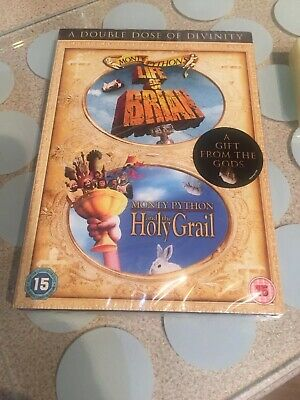 The Life Of Brian / Monty Python And The Holy Grail Double Pack Dvd New