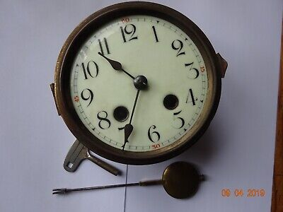 GERMAN CLOCK MOVEMENT sold for spares and repair