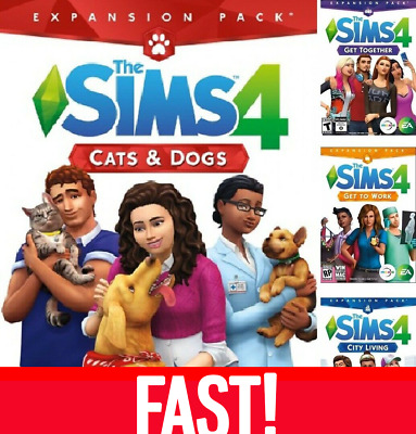 sims 4 all expansion packs free download mac