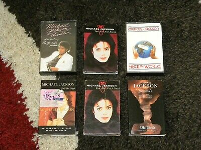 Michael Jackson - Lot of Cassettes – Thriller, You Are Not Alone, Scream