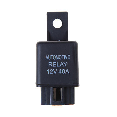 DC 12V 40A Car Auto Automotive Van Boat Bike 4 Pins SPST Alarm Relay le