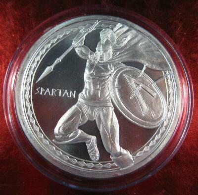 2019 Spartan 1 oz .999 Silver Round ~ NEW Warrior Series KEY #1 Coin released!