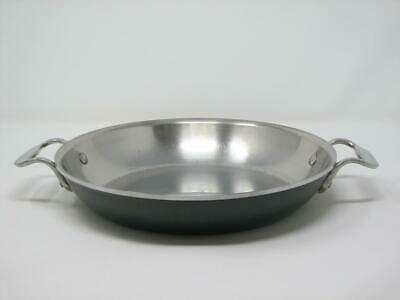 "All Clad LTD 10"" Stainless Steel Saute Stir Fry Skillet Double Handle EXCELLENT"