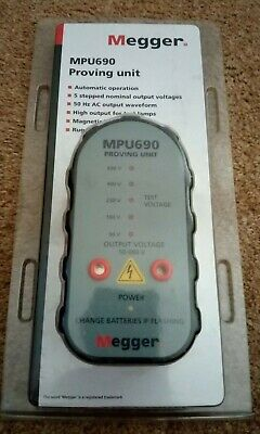 Megger MPU690 690v 2 Pole Voltage & Continuity Tester Proving Unit