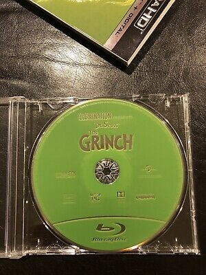 Illumination Presents Dr. Seuss' The Grinch (2018) Blu ray disc ONLY *Never View