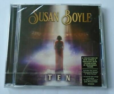 Susan Boyle - TEN  (CD NEW SEALED).....£7.95....FREEPOST