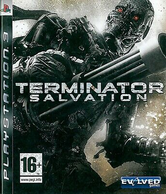Terminator Salvation Sony Playstation 3 PS3 16+ Action Game