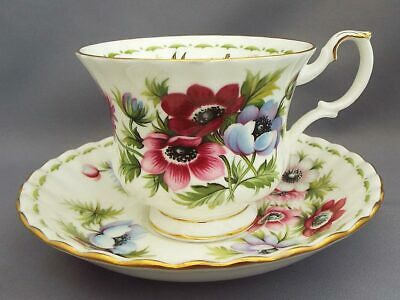 "Royal Albert ""March"" Flower of the Month Cup and Saucer"