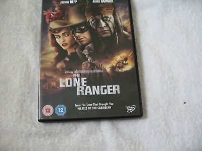 The Lone Ranger (DVD, 2013) WALT DISNEY