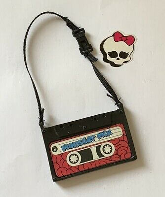 Monster High Doll Spares Replacement Tape Cassette Bag Ghoulia 1st Wave