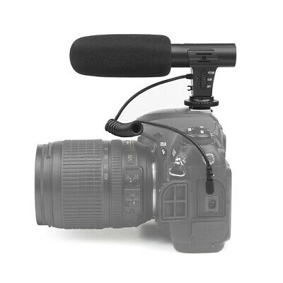Stereo Camera Microphone VLOG Photography Interview Digital Video Recording