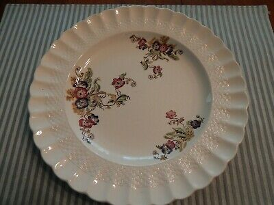 1 6.5 inch bread and butter plates Copeland Spode Wicker Lane preowned gc