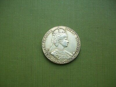 1902, Edward VII Coronation Medal (Probably Silver)