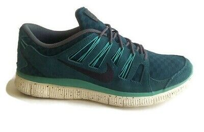quality design e1c0d af321 Nike Free 5.0 Ext Woven Turquoise White 58053-303 Running Shoes Free  Shipping