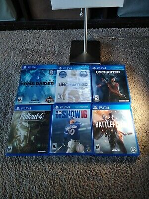 9 NEW AND Used PS4 Games Battlefield Batman Diablo 3 FarCry