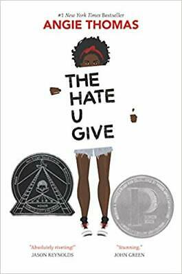 The Hate U  Give by Angie Thomas Hardcover NEW