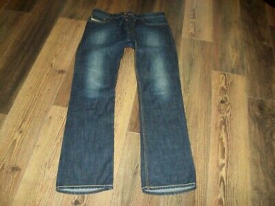 4d04c298 DIESEL MENS JEANS, NEW FANKER Wash 0801B, 30 X 32Slim Bootcut Fit ...