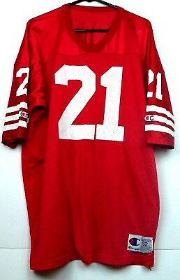 NEW DEION SANDERS San Francisco 49ers Men's M&N Throwback Jersey  free shipping