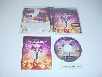 SAINTS ROW 3 w/DLC (full pkg) (PlayStation 3) - $45 41 | PicClick