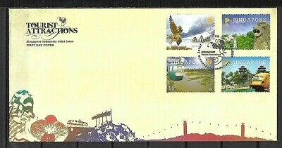 (m684) Singapore, 2009 First Day Cover, Tourist Attractions