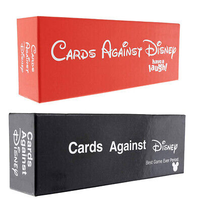 New SEALED Cards Against DISNEY 828 Cards ORIGINAL RED/Black PACK Edition