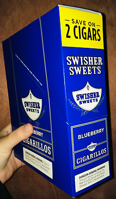 1 BOXES SWISHER SWEETS MANGO 2 In A Pouch 15 Pouches Total