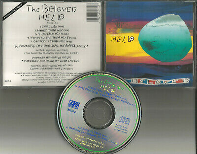 THE BELOVED Hello 6TRX w/ 5 RARE MIXES & UNRELEASED USA CD single 1990 MINT